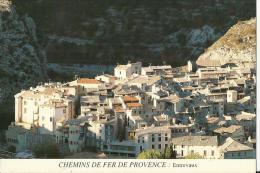 04 Cpsm  Chemins Fer De Provence Entrevaux - Zonder Classificatie