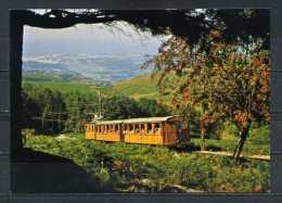 LE PETIT TRAIN DE LA RHUNE Et La Baie De Saint Jean De Luz .   Voir Recto - Verso    (R588) - Saint Jean De Luz