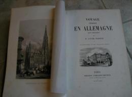 Voyage Pittoresque En Allemagne. Partie Meridionale. 24 Engravings °°1859°°, 504 Pp - 3. Era Moderna (av. 1789)