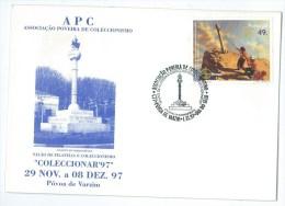 Portugal - Cruzeiro Da Indepêndencia - Independence Calvary - Póvoa De Varzim - Stamp Day 1997 - Monumenten