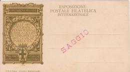 Esposizione Postale Filatelica Internazionale Milano 1894 SAGGIO - Esposizioni