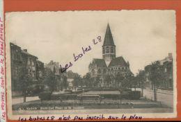 CPA BELGIQUE,  KORTRIJK  COURTRAI   Marie-José Plaats En St. Janskerk  NOV.2013 997 - Kortrijk