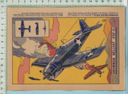 1943 Chasseur ( Grumman Hellcat And Plan For Aircraft Identification ) 2 Scan - Aviation