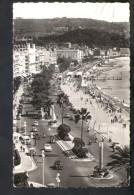 N27 Nice , Promenade Des Anglais Avec Auto Cars Voitures - Used 1957 - Ed. Mar - Nizza