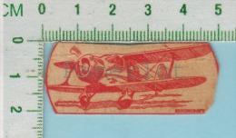 Mini Cartes Avion Biplane Fighter  ( 1937 Beechcraft C17Es  ) - Aviation