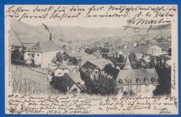 Deutschland; Durbach; Offenburg; Panorama; 1905 - Germania