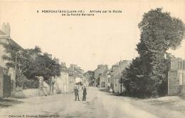 44 PONTCHATEAU ARRIVEE PAR LA ROUTE DE LA ROCHE BERNARD - Pontchâteau