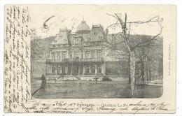 CPA Précurseur -PEPINSTER -CHATEAU DE LA NÔ -Prov. Liège, Belgique -Circulé 1901 -Edit. Alp. Orinel.- Frank, Fhot. - Pepinster