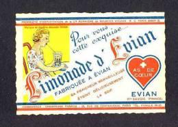Etiquette De Limonade D´ Evian (10´5 X 7´5 Cms) (Ref.67541) - Labels