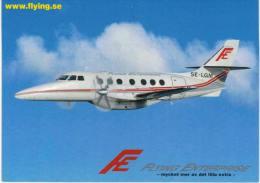 Thème -  Avion -  Flying Enterprise  - 3 Cartes - 1946-....: Moderne