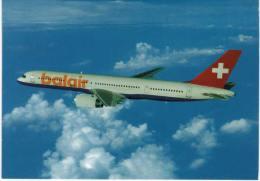 Thème -  Avion -  Hotelplan - Balair - Boeing 757 200 ER/HB IHR - 1946-....: Moderne