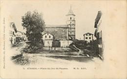 64 AINHOA - PLACE DU JEU DE PAUME - Frankreich
