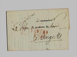 ROYAUME DE FRANCE – Règne De LOUIS XVIII1ère Restauration « 2 Mai 1814 – 20 Juin 1815 » Circulai - Storia Postale