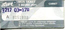 Tramways Et Bus De La Ville De Nantes (France) - Tram