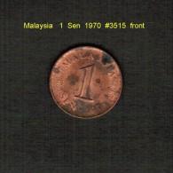 MALAYSIA    1  SEN  1976  (KM # 1) - Malaysia