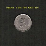 MALAYSIA    5  SEN  1976  (KM # 2) - Malaysia