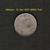 MALAYSIA    10  SEN  1973  (KM # 3) - Malaysia