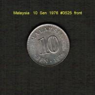 MALAYSIA    10  SEN  1976  (KM # 3) - Malaysia