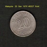 MALAYSIA    20  SEN  1976  (KM # 4) - Malaysia