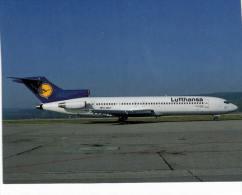 Thème -  Avion - JJ Postcards 95 - Lufthansa Boeing 727 230 D ABKT Cn 21623/1433 Zurich 10/90 - 1946-....: Moderne