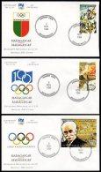 Olympics 3 Covers Official IOC 1994 Madagaskar