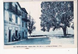 BERRE LES ALPES  310 (ALT 682 M) LA PLACE DE L'ORMEAU (CAFE DES TOURISTES DALMASSO) - Frankreich