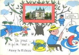CPSM      On Prend Ce Qu'on Veut Azay Le Rideau      P  814 - Azay-le-Rideau