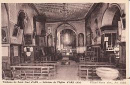 01 - ARS - Intérieur De L'Eglise D'Ars, Tombeau Du Curé - (Edit. Villand Vernu, Ars) - Ars-sur-Formans