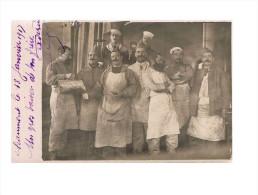 Chaumont 1917  Carte Photo En Trés Bon état (infirmiers Ou Cuisiniers) - Guerre 1914-18