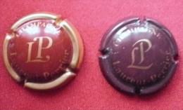 """Champagne:2 Caps """"Laurent Perrier""""n°39/47. Tbien/bien - Laurent-Perrier"""