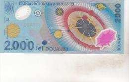 Romania 2000 Lei 1999 Polymer , Unc - Rumania