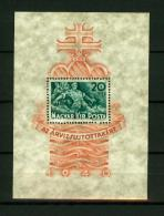 Hungary 1940,1V In Block,flood,overstroming,hochwasser,inondation,alluvione,MH /Ongebruikt(D1782) - Environment & Climate Protection
