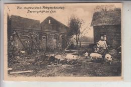 OSTPREUSSEN, LYCK / ELK, Bauerngehöft Bei Lyck, 1916 - Ostpreussen