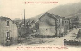 SAINT DIE LA GUERRE DANS LES VOSGES  EDTION WEICK 11131 LES CITES STIFFEL - Saint Die