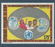 "Benin YT 662 "" O. M. S. "" 1988 Neuf** - Bénin – Dahomey (1960-...)"
