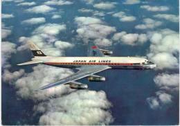 Thème -  Avion - Japan Air Lines DC 8 Jet Courier - 1946-....: Moderne