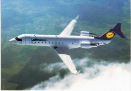 Thème -  Avion - Lufthansa -  Canadair Jet - 1946-....: Moderne