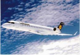 Thème -  Avion - Lufthansa -  Canadair Jet CRJ 700 - 1946-....: Moderne