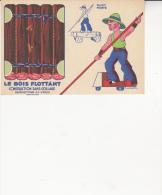 Au Plus Rapide Jouet Monter Radeau Blois Flottant Publicité Blédine Blécao  Découpage Illustrateur Gougeon Superbe état - Autres Collections