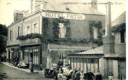 N°36086 -cpa Cambremer -café Hôtel Du Commerce- - Cafés
