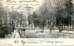N°36095 -cpa Montargis -le Jardin Du Pâtis- - Montargis