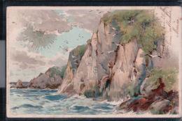 Sonnenschein Postkarte - Winkler Und Schorn - Serie VIII - Steilküste - Ilustradores & Fotógrafos