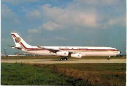Thème -  Avion - PI Leconte 877 - Egypt Air Airbus A 340 312 A40 LE - 1946-....: Moderne