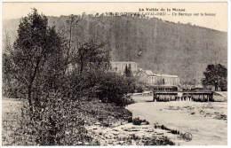 Monthermé Laval Dieu - Un Barrage Sur La Semoy - France
