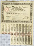 Sté Miniere Des Gundafa à Casablanca - Afrique