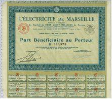 L'Electricité De Marseille - Electricité & Gaz