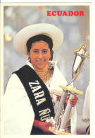 Reina Indigena Otavalena - Indian Queen From Otavalo City - Equateur
