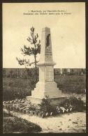 MOUTIERS Par Ymonville Rare Monument Aux Morts (Barbier Laillet) Eure & Loir (28) - Autres Communes