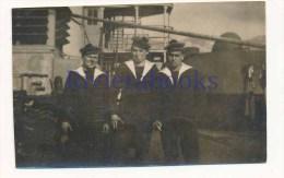 P58 - Marins Marine Nationale Avec Bachi Mécanicien - Guerre, Militaire