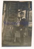 P58 - Marin Marine Nationale Avec Bachi Mécanicien - War, Military